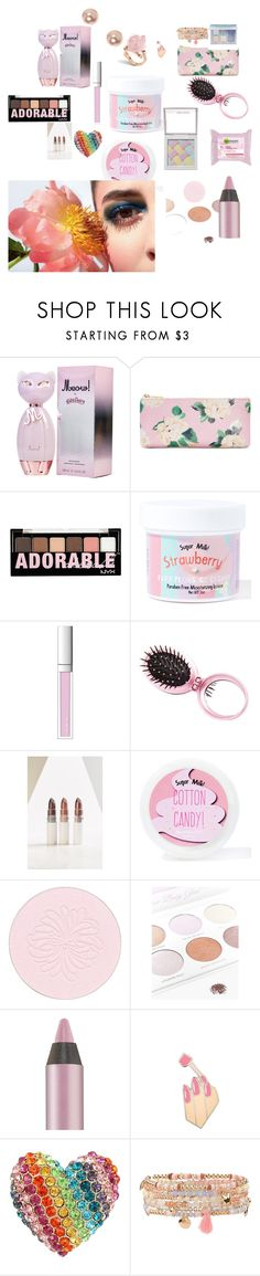 """""""lots of pretty things"""" by cassandra-beauchamp on Polyvore featuring beauty, ban.do, Charlotte Russe, Sugar Milk Co, RMK, Urban Outfitters, Hard Candy, Garnier, Paul & Joe and Boohoo"""