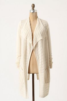 Several Stitches Cardigan #anthropologie  I want this so badly for next year at WWU.  someone buy it for me ;)