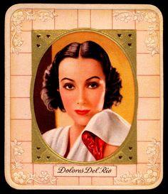 German Cigarette Card - Dolores del Rio