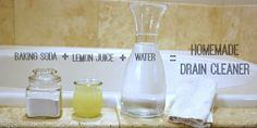 Check out this Homemade Drano recipe that really works! This all natural method will help with those stubborn clogs. Uses ingredients that you already have!