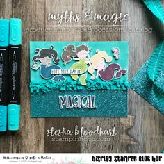 Myths & Magic Suite of Product from the 2018 Occasions Catalog for the Onstage 2017 Display Stamper Blog Hop Card Created by Stesha Bloodhart, Stampin' Hoot! | hope your day is magical