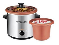 Looking for VitaClay Yogurt Maker Personal Slow Cooker Clay, Stainless Steel ? Check out our picks for the VitaClay Yogurt Maker Personal Slow Cooker Clay, Stainless Steel from the popular stores - all in one. Slow Cooking, Slow Cooked Meals, Cooking Tips, Homemade Yogurt, Homemade Baby, Best Yogurt Maker, Specialty Appliances, Small Appliances, Kitchen Appliances