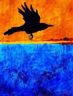 Title:  As The Crow Flies  Artist:  Nancy Merkle