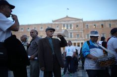 Greek Lawmakers Pass Additional Austerity Measures - The New York Times