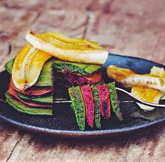 C's Road to Everywhere: Beet and Spirulina Pancakes