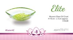 Murano Glass, Easter Eggs, Decorative Bowls, Ornament, Oil, Decoration, Green, Table, Gifts