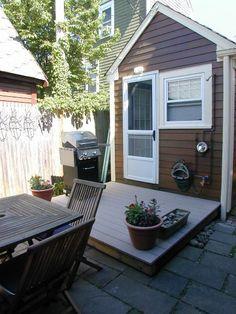 Outdoor private patio/deck with small garden. Provincetown Cape Cod, Cape Cod Massachusetts, Hidden Treasures, Best Vacations, Buns, Trip Advisor, Deck, Cottage, Ocean