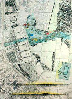 Dieter Kienast-Landscape design for Kronsberg in Hanover Landscape And Urbanism, Landscape Architecture Design, Landscape Plans, Landscape Drawings, City Landscape, Landscapes, Software Architecture Design, Architecture Mapping, Architecture Graphics