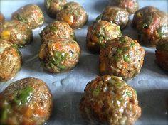 Yummmmmmmmmm NeoHippy   Balls. Veggie Balls.