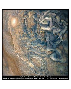 JunoCam is a visible-light colour camera mounted on NASA's Juno spacecraft. It captures the images of Jupiter's poles and cloud tops. It works as the eye of Juno probe and provides context for the other instruments of the spacecraft. Juno Jupiter, Nasa Photos, Nasa Images, Jupiter Planeta, Jupiter Photos, Cosmos, Nasa Juno, Outer Space, Interstellar