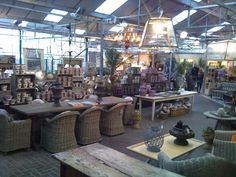 Burford Garden Centre.... This is what a garden shop should look like! Miss this store so very much.