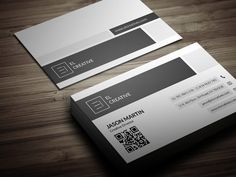 Check out Flat Corporate Business Card by bouncy on Creative Market