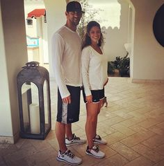Pin for Later: Michael Phelps and Nicole Johnson Are So Cute They Deserve a Gold Medal Nicole Phelps, Nicole Johnson, Michael Phelps, Olympians, Superman, My Friend, Cute Pictures, Marie, Athlete