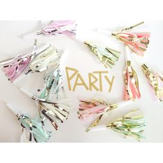 25 party noisemakers by Funfiestasbyili on Etsy https://www.etsy.com/listing/200128918/25-party-noisemakers