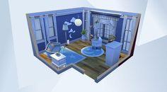 BLUE BOY NURSERY ¡Mira esta habitación en la galería de Los Sims 4! - #nursery #modern #nocc #baby #kids
