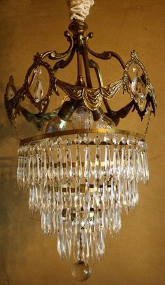 French crystal chandelier for sale… Chandelier For Sale, Antique Chandelier, Chandelier Lighting, Baccarat Chandelier, Crystal Chandeliers, Antique Lamps, Lamp Light, Light Up, Fashion Cakes