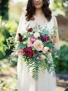 Wild summer blooms: http://www.stylemepretty.com/2015/09/16/rustic-elegant-tuckahoe-plantation-wedding-inspiration/ | Photography: Kate Ignatowski - http://www.kateignatowski.com/