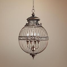 1000 ideas about birdcage light on pinterest birdcages. Black Bedroom Furniture Sets. Home Design Ideas