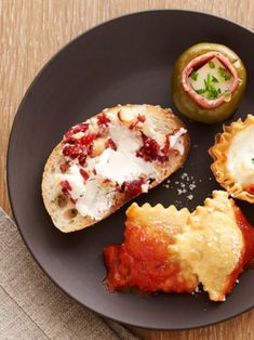 Make these pre-dinner bites from Food Network Magazine in 15 minutes or less.