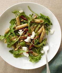 Salade de pâtes froides au pesto