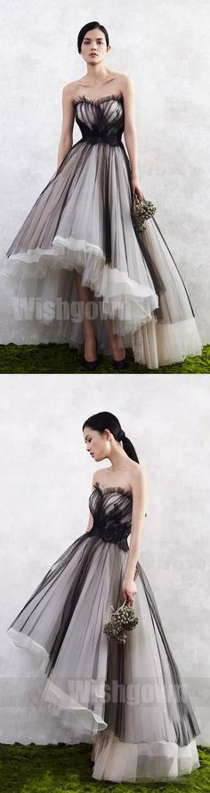 Elegant Sweetheart High Low Charming Most Popular Long Prom Dresses, WG1047 #promdress #promdresses #longpromdress