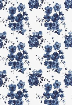 Floral is blooming this summer! Floral is on every dress, top, shorts and more. If you want to keep up with the latest, there is no way you can go wrong with these designs🌸🌺🌼🌻 Mandarin Flowers - Sanderson Fabric Motifs Textiles, Textile Patterns, Pretty Patterns, Flower Patterns, Pattern Art, Pattern Design, Surface Pattern, Iphone 6, Wallpaper Direct