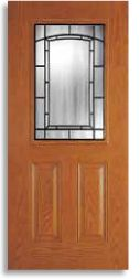 Exterior door lites - upgrade your dated front door! Style shown - Adelaide - available at Abstract Glass Modern Entry Door, Entry Doors, Entryway, Exterior Doors For Sale, Glass Front Door, Interior Barn Doors, Modern Minimalist, French Doors, Curb Appeal