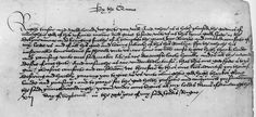 """Letter announcing the birth of Princess Elizabeth with the word """"prince"""" changed into """"princess"""" with the addition of the two """"ss."""""""