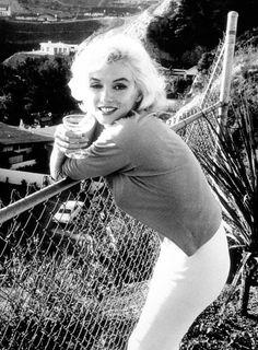 Marilyn Monroe in 1962