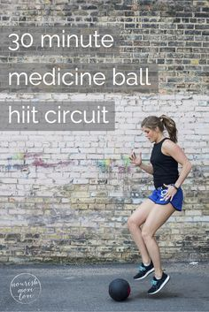 30 Minute medicine ball hiit circuit workout  #MedicineBallExercises #fitness #workouts http://bestbodybootcamp.com/