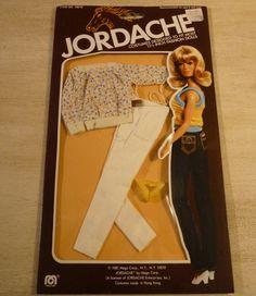 1980s Jordache Barbie Clothes. $20.00, via Etsy.