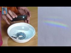 Learn How to Make a Rainbow at Home - Kids Science Experiments - YouTube