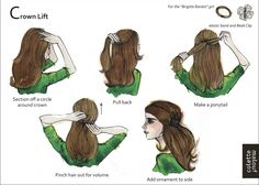 Crown lift plus 9 other illustrated styles. Show me a picture & I can do it. This just made my life so much easier.
