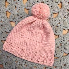 Mönster till Bobbleheart mössan – Pysselofix Knitting For Kids, Baby Knitting Patterns, Knitting Projects, Crochet Patterns, Crochet Ideas, Hat Patterns, Crochet Fall, Knit Crochet, Maila