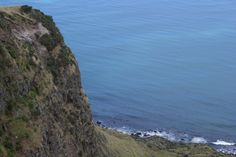 Cliff Faces, on the west coast of New Zealand, South of Raglan.