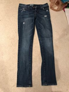 6a9f1348c46 aeropostale Jeans Size 3 4 REG Skinny Light Blue Full Length Mid Rise   fashion  clothing  shoes  accessories  womensclothing  jeans (ebay link)