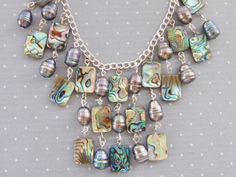 Hey, I found this really awesome Etsy listing at https://www.etsy.com/il-en/listing/244372038/stunning-bib-necklace-lg-fresh-water
