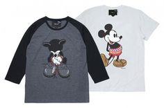 rehacer x Disney Mickey Mouse 7th Anniversary T-Shirts - MIXUPPER