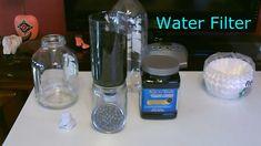 "DIY Water Filter - Homemade ""Hi-Volume"" Water Filter - Easy DIY (makes t..."