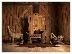 Viking Jarl Throne #odin #geri #freki