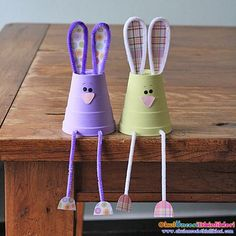 foam cup bunnies + 25 Easter Crafts for Kids - Fun-filled Easter activities for you and your child to do together! Easter Crafts For Adults, Easy Easter Crafts, Easter Projects, Easter Art, Bunny Crafts, Family Crafts, Crafts For Kids To Make, Easter Crafts For Kids, Easter Bunny