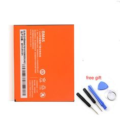 3020mAh Mobile Phone Battery BM45 For Xiaomi RedMi Note 2 Red Rice Hongmi Note2 Bateria Replacement batteries+ Repair tools #Affiliate