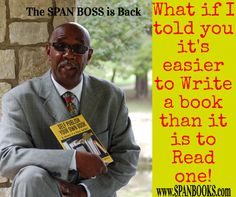 Get published before 2017 and start the year off as a Best Selling Author.  www.SPANBOOKS.com