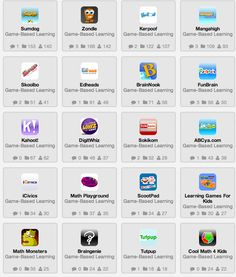Great Game-based Learning Tools and Apps for Teachers ~ Educational Technology and Mobile Learning #elearning #edtech