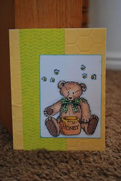 Made this for the OWH VCMP. Stampin' up Button Bear.
