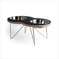 the EIGHT Modern pet bowl for Xtra large dogs by dripmodule