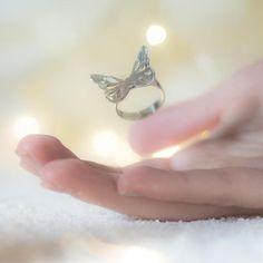 Anillo Mariposa Anillo plata de ley mariposa Mariposa en