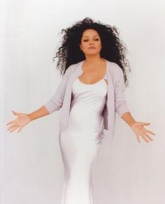 """THE BOSS: Diana Ross  No one did, does it, or will ever do it quite like Miss Ross.  When I think """"diva"""", she is the epitome of it.  I don't want those that I look up to to seem """"human"""", they must be larger than life... its what I'm aiming for too."""