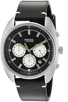 Looking for Fossil Mens Drifter - ? Check out our picks for the Fossil Mens Drifter - from the popular stores - all in one. Fossil Watches For Men, Cool Watches, Wrist Watches, Seiko Men, Black Models, Automatic Watch, Stainless Steel Bracelet, Chronograph, Quartz