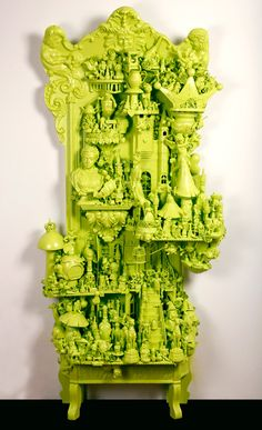 Upcycle Toy Sculptures from small hands big art | Small Hands Big Art Blog -- not sure about the logistics but this could be a fun teen art project for recycling month